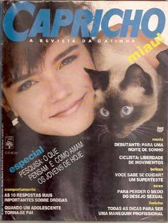 revista capricho anos 80, eu tinha!! ❤️