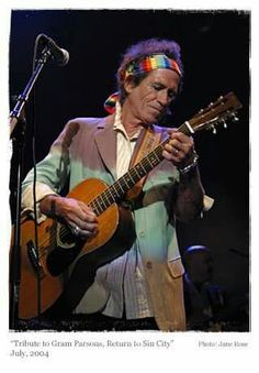 Keith Richards tribute to Gram Parsons