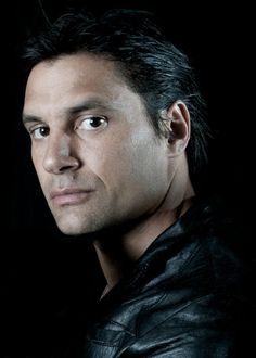 "Manu Bennett of ""Arrow"", ""Spartacus"" and ""The Hobbit"". Saw him on ""Marie"" and he brought tears to my eyes. He is not what you expect."