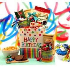 Download happy birthday gift images photos pictures baskets for happy birthday gift bag just for you birthday gift celebrate negle Images