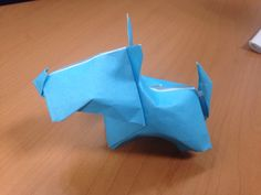 Terrier origami