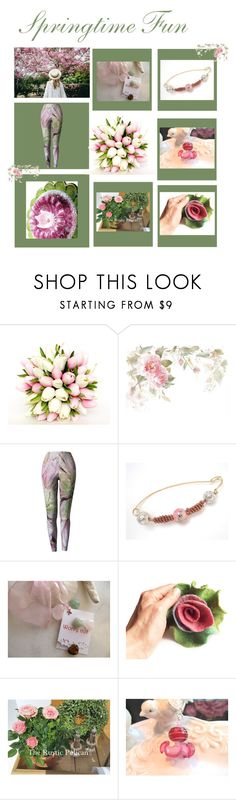 """""""Springtime Fun"""" by therusticpelican ❤ liked on Polyvore featuring modern, contemporary, rustic and vintage"""