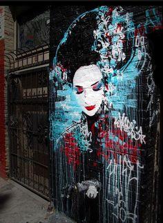 #Streetart by Hush #art  https://plus.google.com/u/0/communities/110555863698582336481…