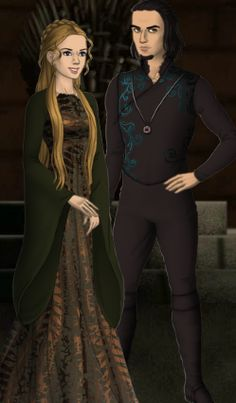 Cygnus I Black and his fiancee Ella Max. Ella was a Slytherin too.