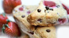 Gluten-Free Strawberry Chocolate Chip Scones Recipe