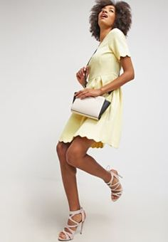mint&berry - Jerseykjole - light yellow