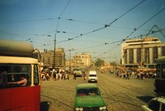 Piața Unirii în anul 1985 Bucharest Romania, Timeline Photos, Time Travel, Old And New, Street View, Memories, History, Retro, Roots
