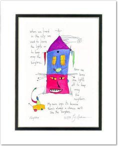 Neighbors Prints (classic) | StoryPeople