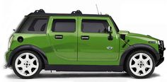 mini cooper hummer,  style to the Max!