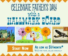 Tri Cities On A Dime: CELEBRATE FATHER'S DAY WITH A HALLMARK eCARD!