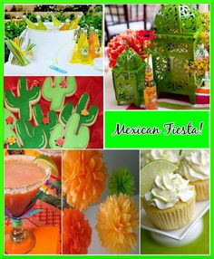 Mexican Fiesta pool party! free printables & ideas