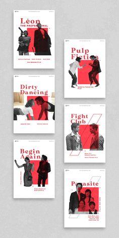 Movie Poster Design Inspiration by Zeka Design Graphic Design Inspiration Project - Movie Poster Design Inspiration by Zeka Design Graphic Design Inspiration Project - Poster Design Layout, Creative Poster Design, Poster Design Inspiration, Creative Posters, Graphic Design Projects, Graphic Design Posters, Graphic Designers, Creative Advertising, Minimalist Poster Design