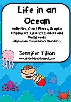 kindertrips Life in an Ocean Literacy Unit
