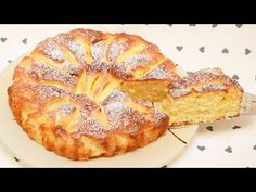 TORTA DI MELE SENZA BURRO sofficissima e veloce - YouTube Easy Cake Recipes, Apple Recipes, 3 Ingredient Cheesecake, French Apple Tart, Yogurt Cake, Sweet Bread, Dessert Bars, Apple Pie, Sweet Tooth