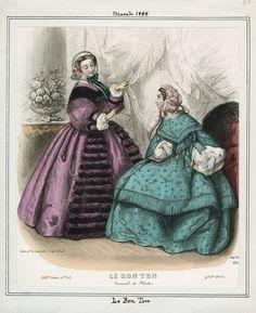 Le Bon Ton March 1858 LAPL