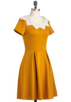 Curry Me Away Dress | Mod Retro Vintage Dresses | ModCloth.com