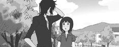 ( 好きっていいなよ。 ) Suki-tte ii na yo, Say, I love you. Mei Tachibana pushing Yamato Kurosawa ♡