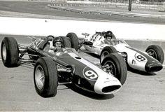 1963 Lotus 29, Jim Clark and Dan Gurney