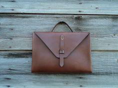 Leather Laptop Case by harnsad on Etsy, $150.00