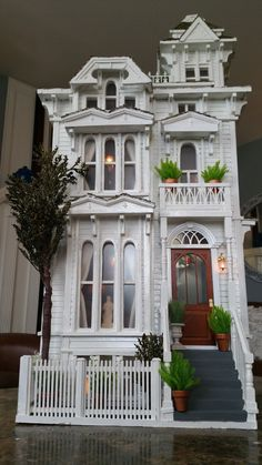 San Francisco Victorian dollhouse