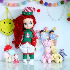 BOZO_Dec11. Doll clothes for Disney by RabbitinthemoonThai on Etsy