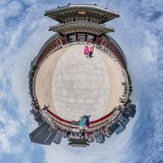 #aoefilm #경복궁 #광화문 #littleplanet #panorama #파노라마 #vr  #5ds by aoefilm Ferris Wheel, Fair Grounds, Instagram