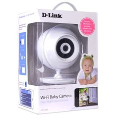 D-Link DCS-820L Wireless Security/BabyCam - 2-way Audio Night Vision  Apple iOS/Android App & Remote PC Browser Access