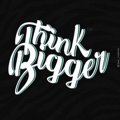 Think Bigger. . #think #thinkbigger #lifequotes #details #typography #typo #graphic #inspirationalquotes #graphicdesigner #designer #motivation #graphicdesign #typographydesign #details #bearcreatives #creatives #instagraphic #graphicart #graphics #typographyinspired #mondaymotivation #motivation #quote #quoteoftheday #quotes #quotesaboutlife #adobe #motivationalquotes #photoshop #learnlife #digitalart #designinspiration Graphic Design Quotes, Typography Design, Graphic Art, Think Big, Monday Motivation, Motivationalquotes, Quote Of The Day, Adobe, Life Quotes