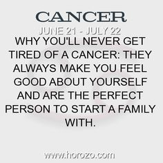 Fact about Cancer: Why you'll never get tired of a Cancer: They always make... #cancer, #cancerfact, #zodiac. More info here: https://www.horozo.com/blog/why-youll-never-get-tired-of-a-cancer-they-always-make/ Astrology dating site: https://www.horozo.com