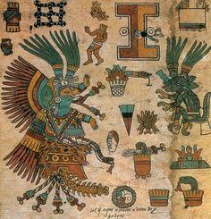 Xochiquetzal: Diosa de las Flores y el Amor, Codex Borbonicus, c.1525