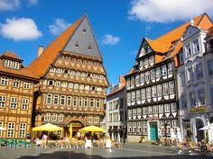 Das Knochenhaueramtshaus am Marktplatz in Hildesheim