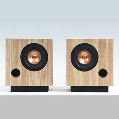 Introducing The Ash Cube – a new interpretation of Fern & Roby Audio's original flagship Heart Pine speaker.