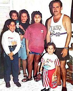 Da Esquerda pra Direita, @maynna_oliveira , Salomão Filho, Mãe, Míria, Pai e Eu. #Há uns tempos atrás... .