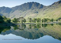Haystacks Reflections in Buttermere Mounted by ClassicLandscapes Cumbria, Lake District, Grand Canyon, United Kingdom, Reflection, Scenery, England, Fine Art, Art Prints