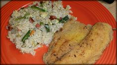 Homemade Fried Rice & Tilapia