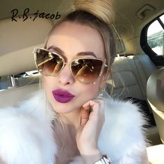 2017 Oversized Sunglasses Women Fashion Cat Eye Sunglasses Vintage Brand Designer Hipster Cateye Sun Glasses Points Metal Frame #Sunglasses http://www.ku-ki-shop.com/shop/sunglasses/2017-oversized-sunglasses-women-fashion-cat-eye-sunglasses-vintage-brand-designer-hipster-cateye-sun-glasses-points-metal-frame/