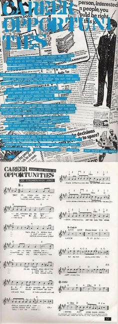 Career Opportunities - The Clash Songbook