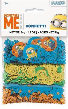 Minions Despicable Me - Confetti