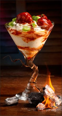 Smoky Spud BBQ Mashtini™    This 'tini is adventurous, it's bold, it's delicious!