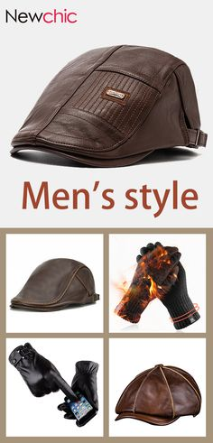 Men 's Outfits Bare Men, Hats For Men, Men's Clothing, Winter Outfits, How To Look Better, Gloves, Menswear, Mens Fashion, City
