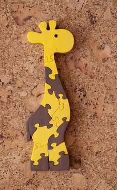 Giraffe toy, wooden animals, wooden toys, Family gift for family, wooden souvenir Wooden Puzzle Giraffe. Giraffe Toy, Giraffe Nursery, Animal Puzzle, Wooden Animals, Scroll Saw Patterns, Wooden Puzzles, Toddler Gifts, Wood Toys, Wooden Diy