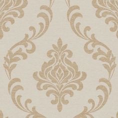 Shop BHF Torino Damask Beige/Gold Wallpaper, Set of 2 Pieces. Free delivery on eligible orders of or more.