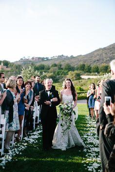 Photography: Heather Kincaid Photographer - heatherkincaid.com/  Read More: http://www.stylemepretty.com/little-black-book-blog/2014/01/14/classic-mint-pink-pelican-hill-wedding/