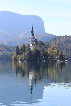 The iconic image of a steepled church on a forested island surrounded by nothing but striking blue water is what lures most people to Lake Bled, Slovenia. Fortunately, the area just so happens to be one of those special places that has much more to offer visitors than just a glimpse of the main attraction. From boat trips to bicycles, castles and mountain climbing, here's a roundup of the best sights around Lake Bled.