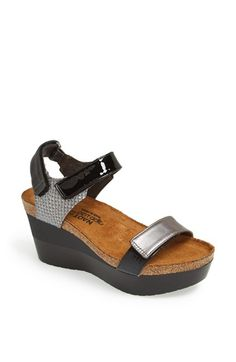 Naot 'Miracle' Sandal available at #Nordstrom -- I want these -- comfort and style!