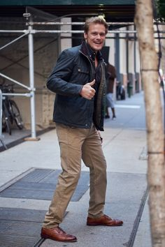 September 29 - NYC Barbour Location - sh-00055 - Sam Heughan FAN | The most comprehensive gallery for all things Sam Heughan.