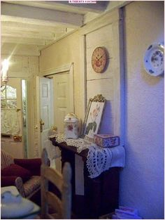 La vie en rose Dollhouses, Shabby Chic, French, Furniture, Home Decor, Decoration Home, French People, Room Decor, Doll Houses