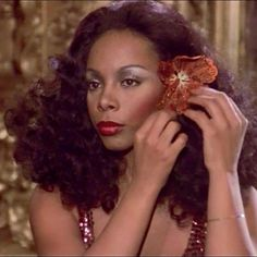 """The Queen of Disco, Donna Summer in """"Thank God It's Friday"""" 1978"""