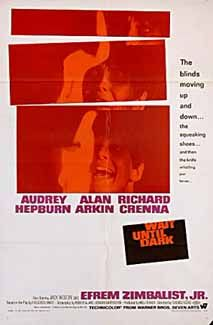 Posteritati: WAIT UNTIL DARK 1967 U.S. 1 sheet (27x41)