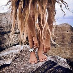 """How to Chic: SUMMER HAIR - BBC Boracay says: ' On the beach with all the wind in your hair - freedom..."""""""